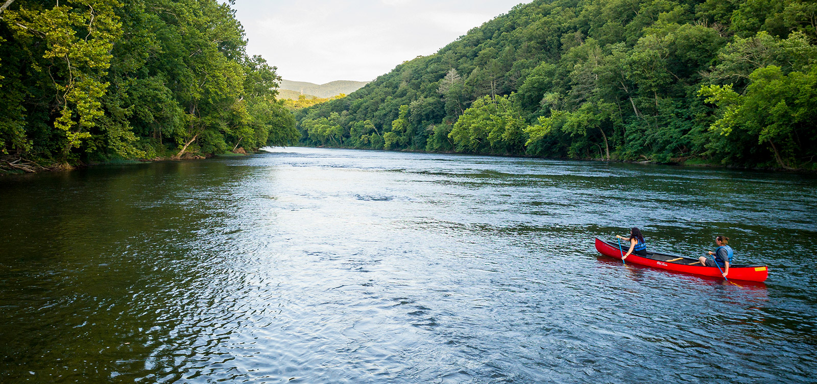Canoeing in the Shenandoah Valley