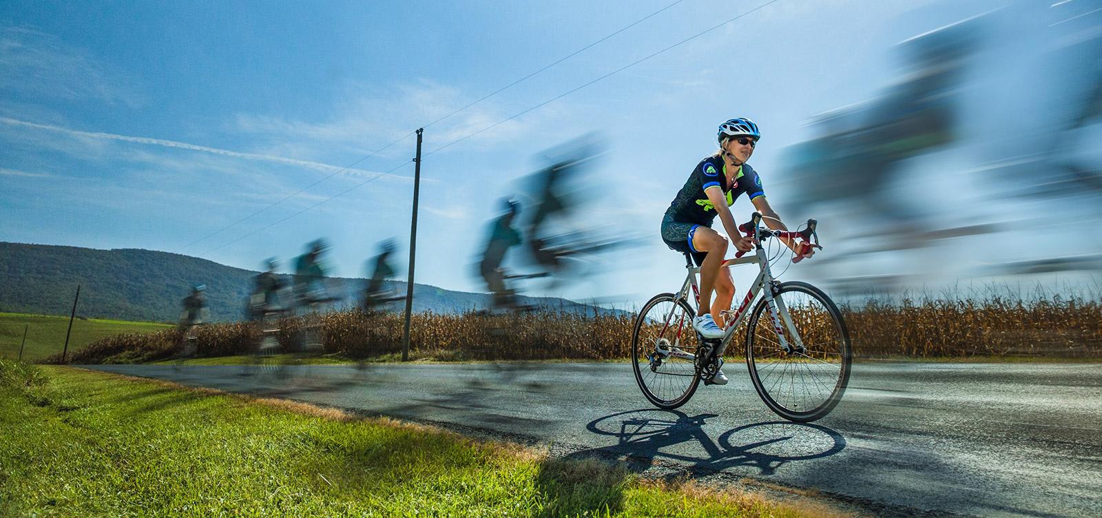 Cycling in Shenandoah County